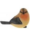 Decoratie vogeltje Roodborstje 17 cm