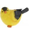 Decoratie vogeltje Wielewaal 17 cm