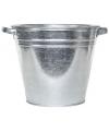 Zilveren kuip emmer 28 liter